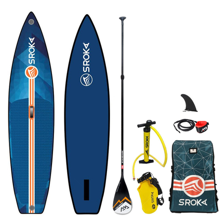 SUP GONFLABLE SROKA ALPHA RIDE FUSION BLEU 11.0 X 32 2019 11.0