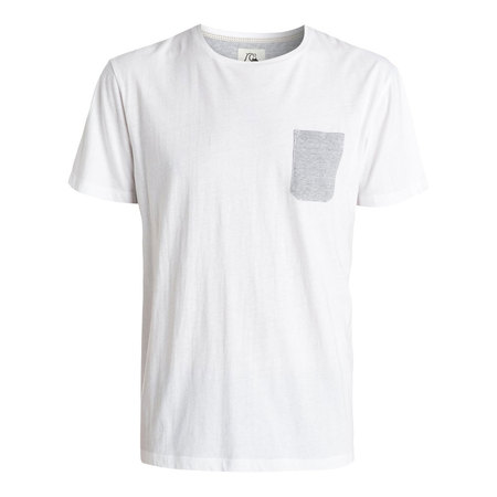 T-SHIRT QUIKSILVER FEED SNOW WHITE M
