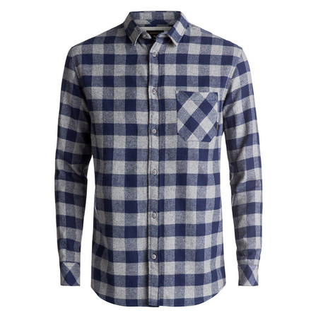 CHEMISE QUIKSILVER MOTHER FLY FLA BLEUE