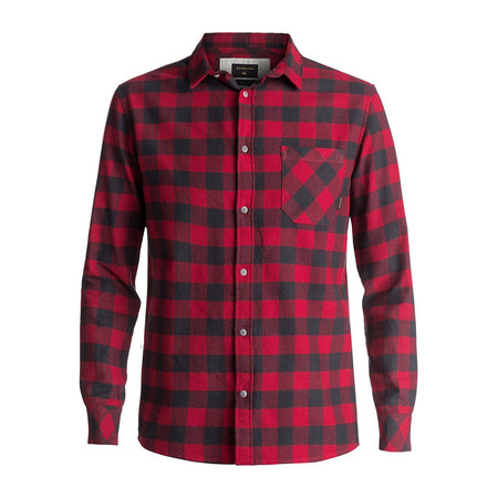 CHEMISE QUIKSILVER MOTHER FLY FLA ROUGE