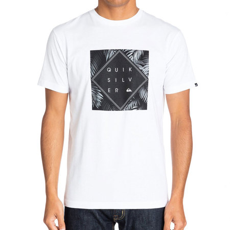 T-SHIRT QUIKSILVER CLASSIC TEE EMPIRE BLANC S