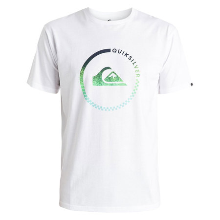 T-SHIRT QUIKSILVER CLASSIC ACTIVE CHECK BLANC S