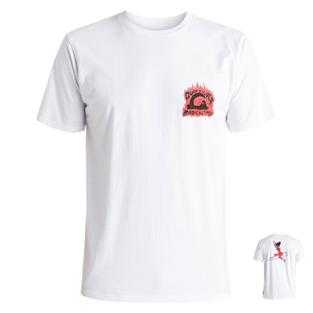 T-SHIRT QUIKSILVER SWEET AND SOUR BLANC