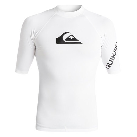 LYCRA QUIKSILVER ALL TIME SS BLANC S