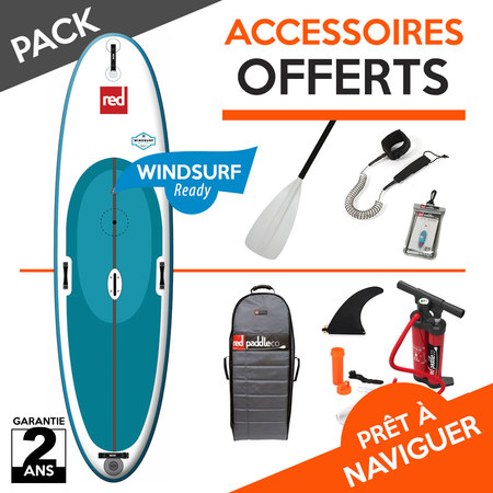 SUP GONFLABLE RED PADDLE WINDSURF 10.7 2018 10.7