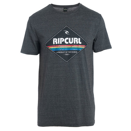 T-SHIRT RIP CURL DIAMOND ANTHRACITE