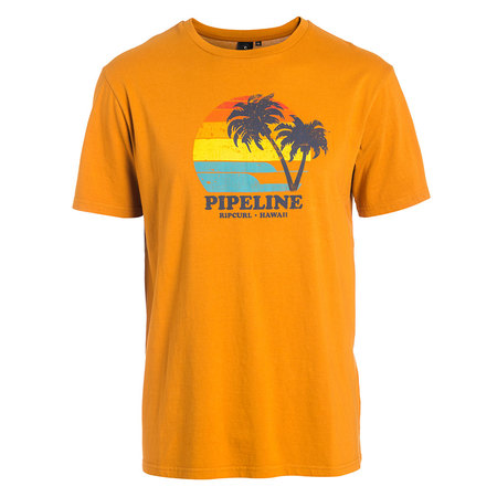 T-SHIRT RIP CURL SPOT ON ORANGE S