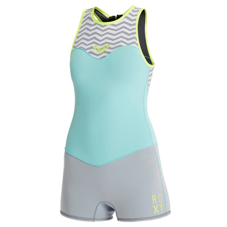 SHORTY ROXY XY RACER SHORT JOHN 2MM FEMME 2016 L