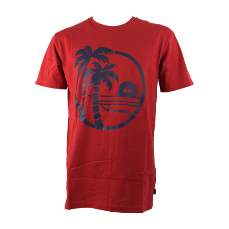 T-SHIRT QUIKSILVER SHD SECRET ROUGE