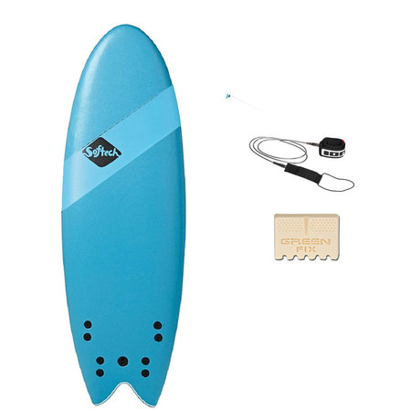 PACK SURF SOFTECH HANDSHAPED SB 5.4 QUAD 5.4