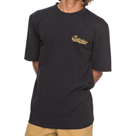 T-SHIRT QUIKSILVER GMT DYE HOOD LOVES NOIR
