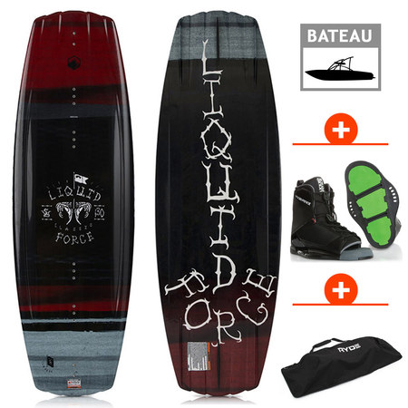 PACK WAKEBOARD LIQUID FORCE CLASSIC 2018+ TRANSIT