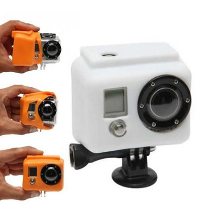 COQUE GOPRO SILICONE COVER HD BLANC