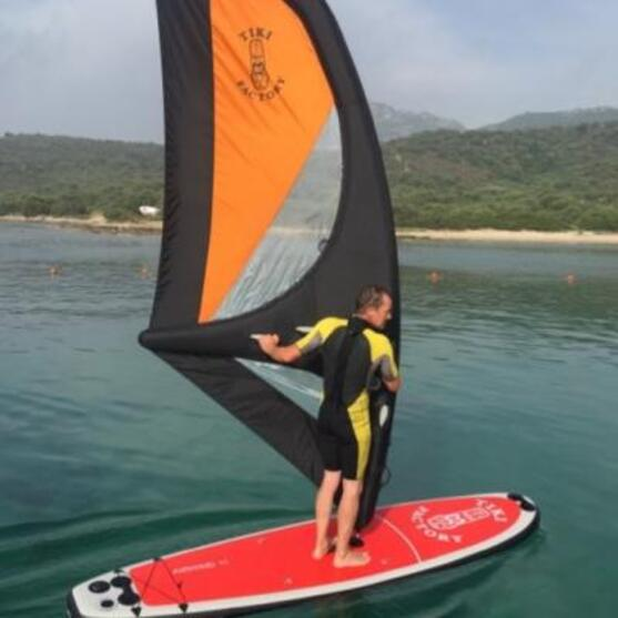 Voile Gonflable Paddle Windsurf Tiki Haute Pression En Stock Greement Accessoires Flysurf Com