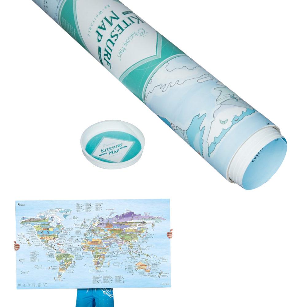 Carte Du Monde Kitesurf.Carte Du Monde Kitesurf Trip Map